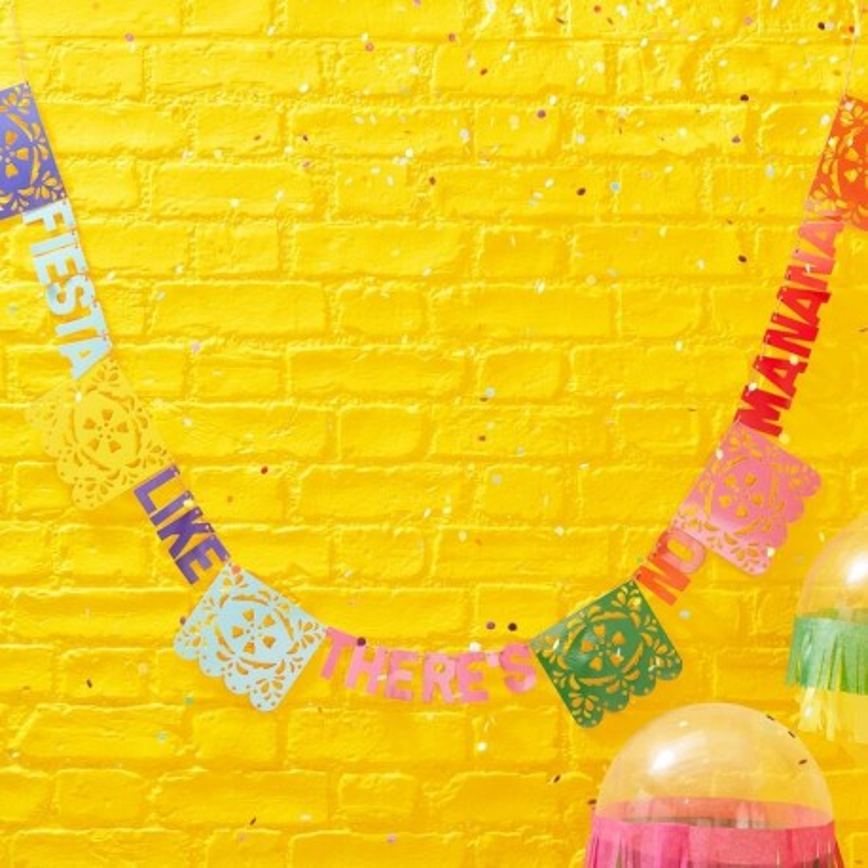 letterslinger mexico lama feest versiering decoratie