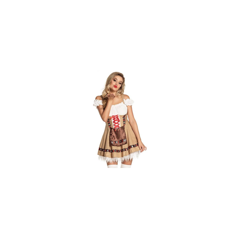 sexy tiroler jurkje carnaval dirndl kleedje