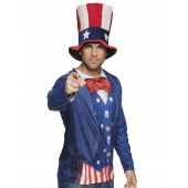 Uncle Sam shirt amerikaanse verkleedkleding