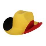 Belgie supporters cowboyhoed fanartikelen belgium