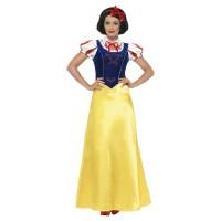 Sneeuwwitje jurk dames verkleed kostuum