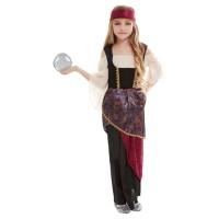 Waarzegster kostuum zigeunerin kind