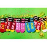 grappige sokken cadeau met tekst