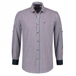 Trachtenhemd heren Tiroler shirt multicolor