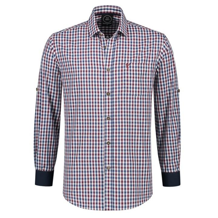Trachtenhemd heren Tiroler shirt multicolor