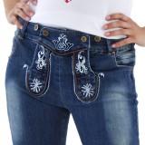 jeans lederhosen dames trachten Tiroler broek