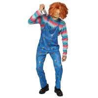 Chucky kostuum heren Halloween pak