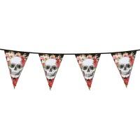 Vlaggenlijn Dia de los Muertos 6m
