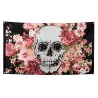 Vlag Dia de los Muertos 90x150 cm