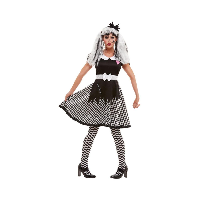 Halloween Kleding Dames.Gebroken Pop Kostuum Halloween Pakje Dames