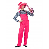 fluo roze broek neon kleding