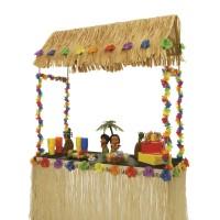 Tiki hut tafel opzetstuk voor Hawaii Tiki bar