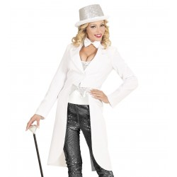 Witte slipjas voor dames