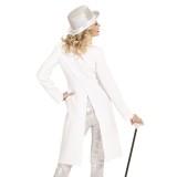 Slipjas witte dames carnaval