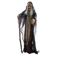Halloween decoratie Bewegende heks 150cm