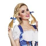 Tiroler vlechtjes diadeem oktoberfest accessoires