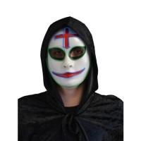 Lichtgevend Killer clown masker