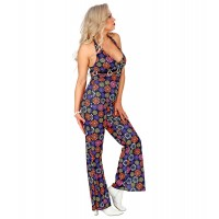 Disco jumpsuit groovy Dames disco outfit