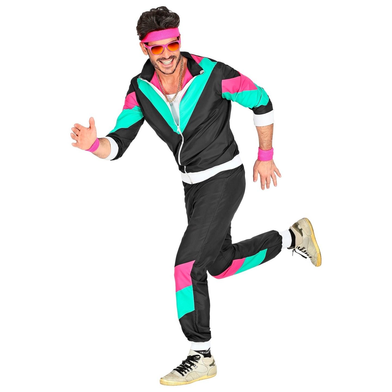 jaren 80 trainingspak retro jogging carnaval