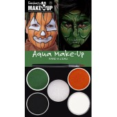 halloween schmink grime water make up