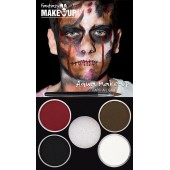 halloween schmink water grime make up
