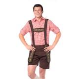 goedkope Lederhosen Bruine Tiroler broek kleding