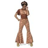 hippie jumpsuit dames jaren 70 kleding