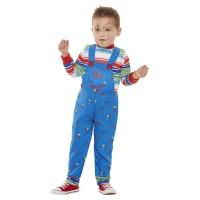 Chucky® kostuum peuter Halloween pakje