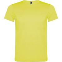 Fluo T-shirt kind volwassenen geel