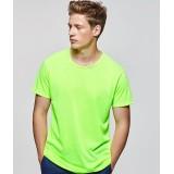 Fluo T-shirt volwassenen neon groen