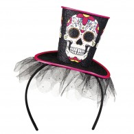 Day of the dead tiara sugar skull La Flaca