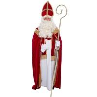 Sinterklaas kostuum katoen fluweel compleet