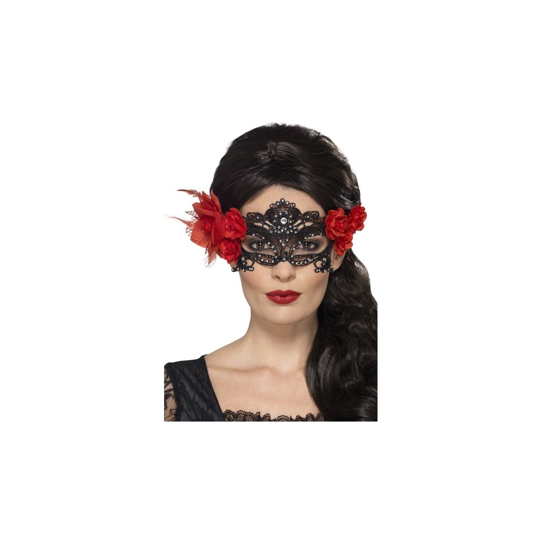 Dodenmasker dia de los muertos halloween