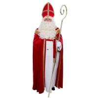 Sinterklaas kostuum poly fluweel compleet