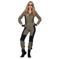 Top Gun kostuum dames pilotenpak