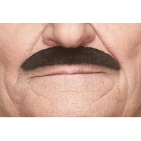 zwarte plaksnor nepsnor valse snor mustaches