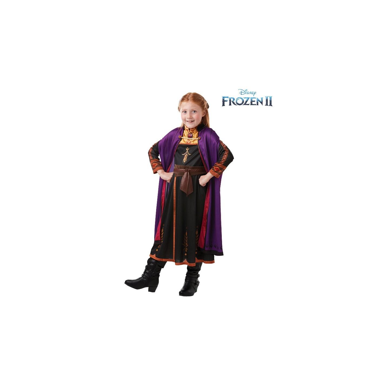 anna kostuum frozen 2 jurk verkleedpak