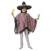 Mexicaanse poncho kind kopen carnaval