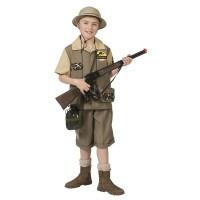 Safari kostuum kind Dino gevaar