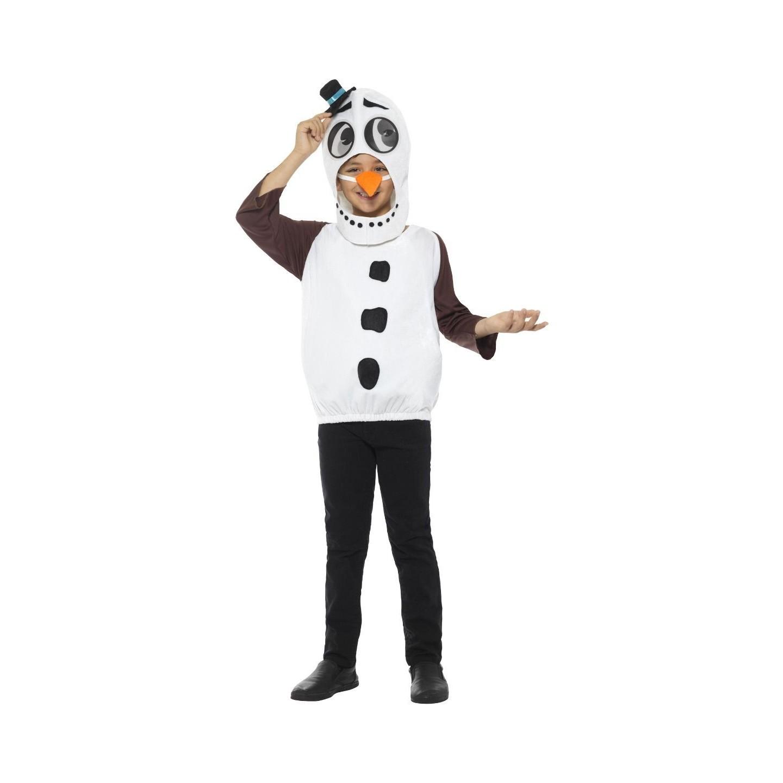 Olaf kostuum kind Sneeuwman pak frozen