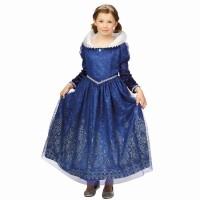Prinsessenjurk Louise baljurk Koningsblauw
