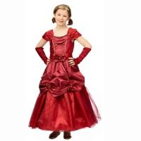 Prinsessenjurk kind Olivia baljurk rood