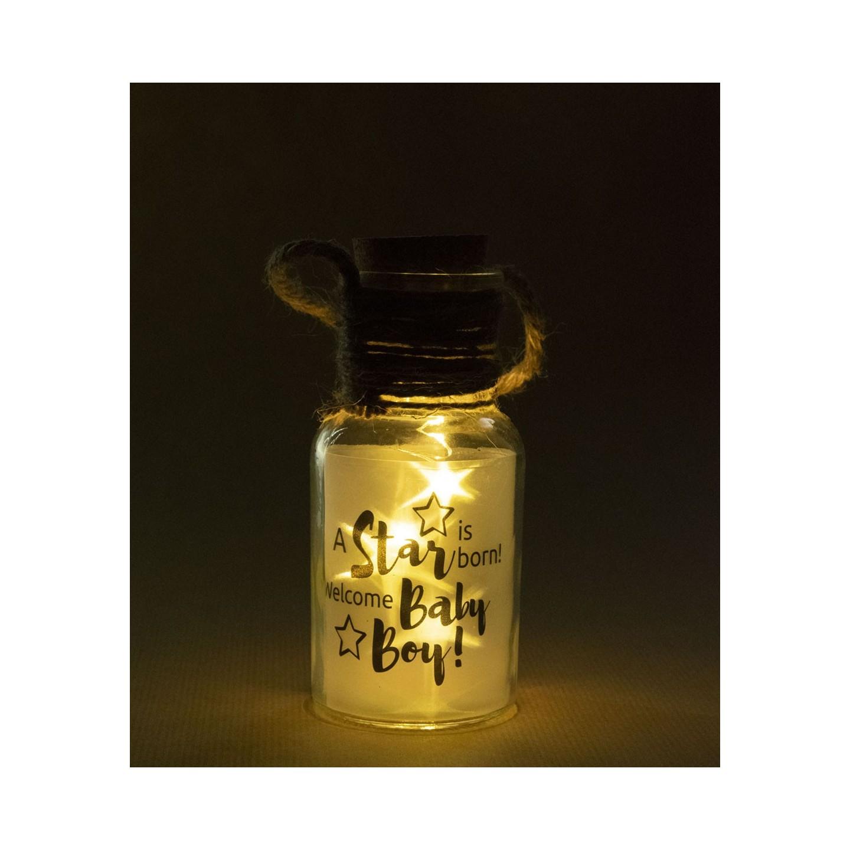 klein cadeautje lichtgevend big star light