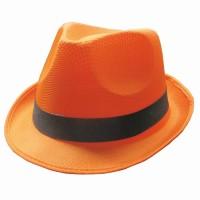 Fluo neon maffia hoed Oranje