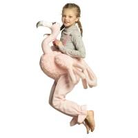 Instap flamingo kostuum kind carnaval