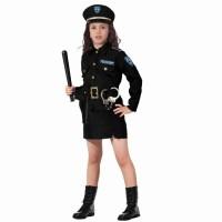 Politiepak MEISJES politie kostuum kind