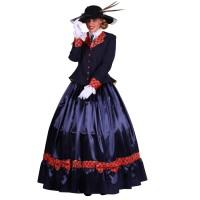 Victoriaanse Biedermeier kostuum dames