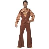Seventies kostuum heren retro kledij carnaval