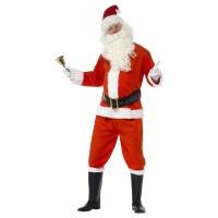 Kerstman kostuum deluxe 6-delig heren