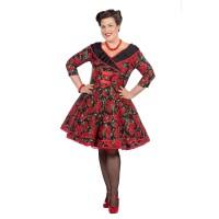 Rockabilly jurk vintage Rosie